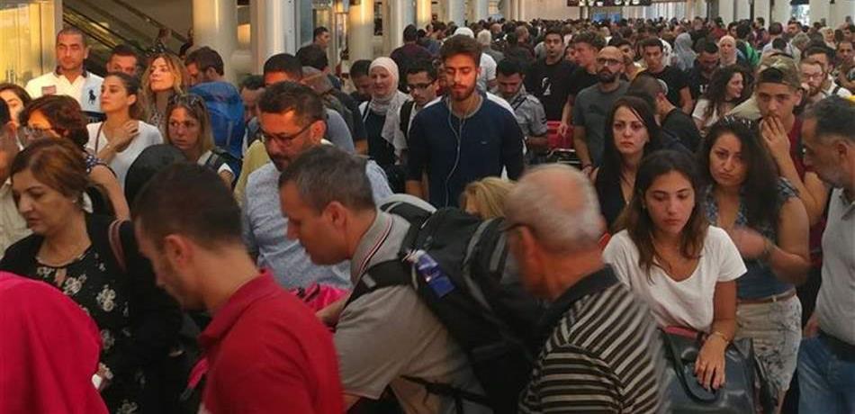 بالتفاصيل!! هذا ما حصل في مطار بيروت بين جهازين أمنيين وتوقف لحركة المسافرين