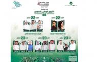 هؤلاء النجوم يغردون للسعودية في مهرجان اليوم الوطني 88
