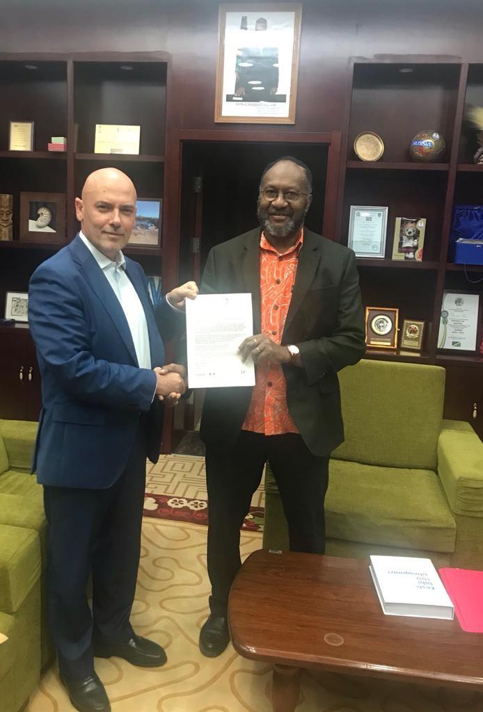 قنصل لبناني يضع جمهورية فانواتو على خارطة هاليفاكس