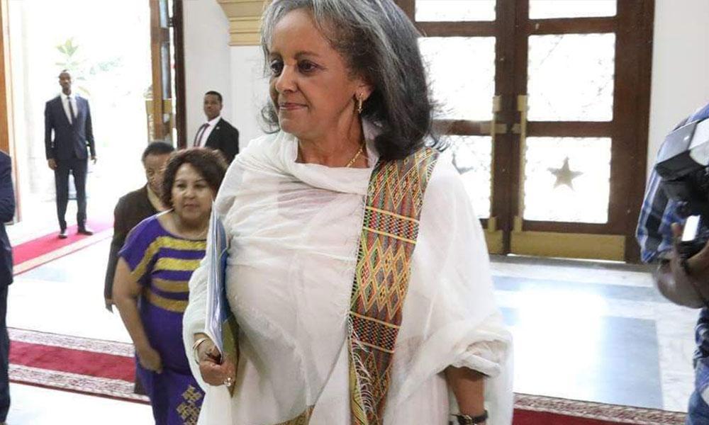 امرأة رئيسة لاثيوبيا للمرة الأولى