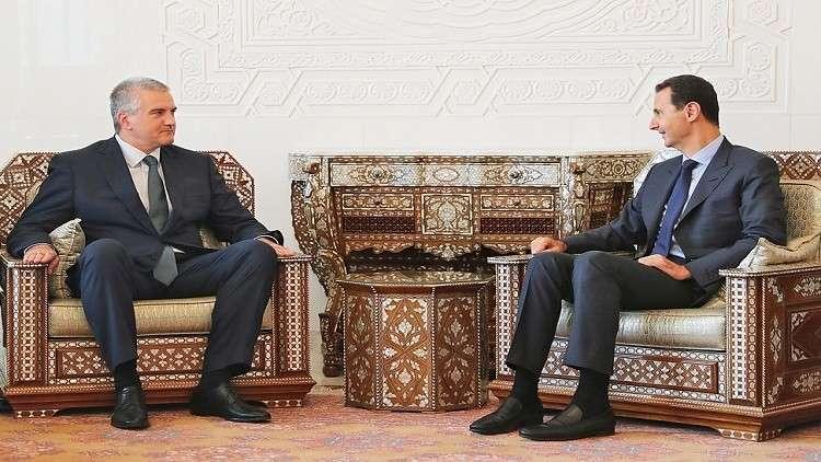 القرم توقع اتفاقيات تعاون مع محافظات سورية
