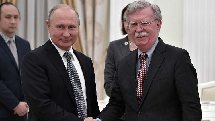 بولتون: البيت الأبيض دعا بوتين لزيارة واشنطن