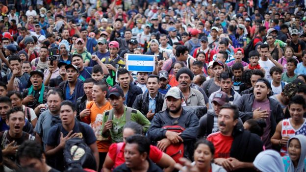 ترامب: المهاجرون من أمريكا الوسطى يشكلون