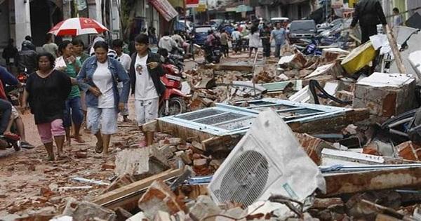 زلزال بقوة 6 درجات وقع في جاوا وبالي