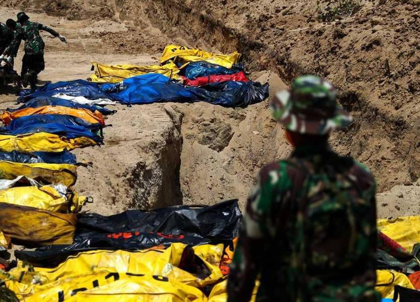 كارثة إندونيسيا.. رقم