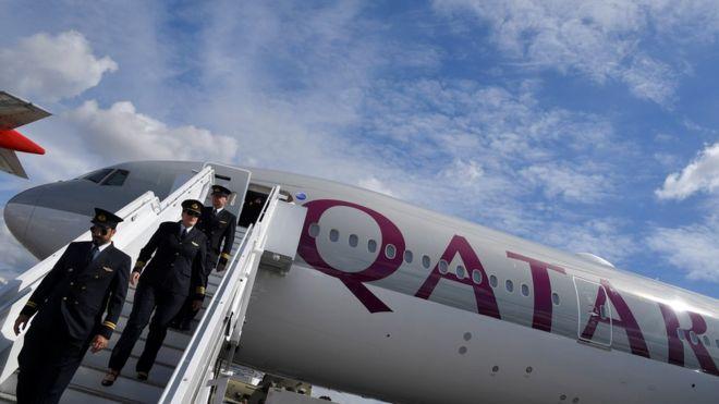 رحلات الخطوط الجوية القطرية إلى إيران