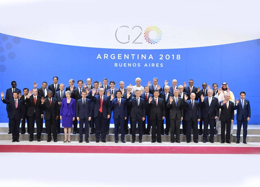 انطلاق أعمال قمة العشرين في الأرجنتين ضمن أجواء متوتّرة