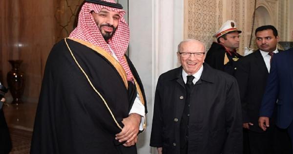 بن سلمان للرئيس التونسي السبسي: أنا مثل ابنك