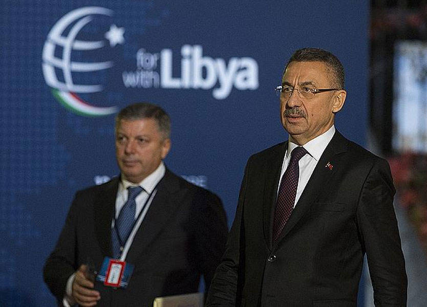 تركيا تنسحب من مؤتمر باليرمو بعد