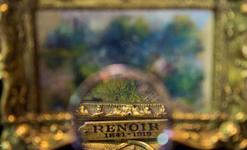 سرقة لوحة الرسام الفرنسي الشهير