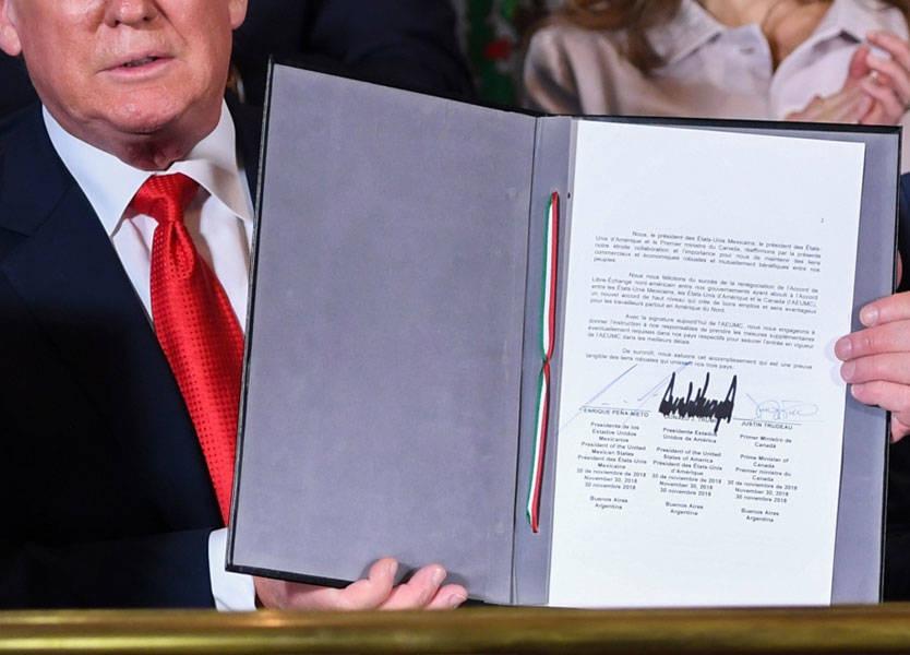 الولايات المتحدة وكندا والمكسيك توقع اتفاقا تجارياً بديلاً عن