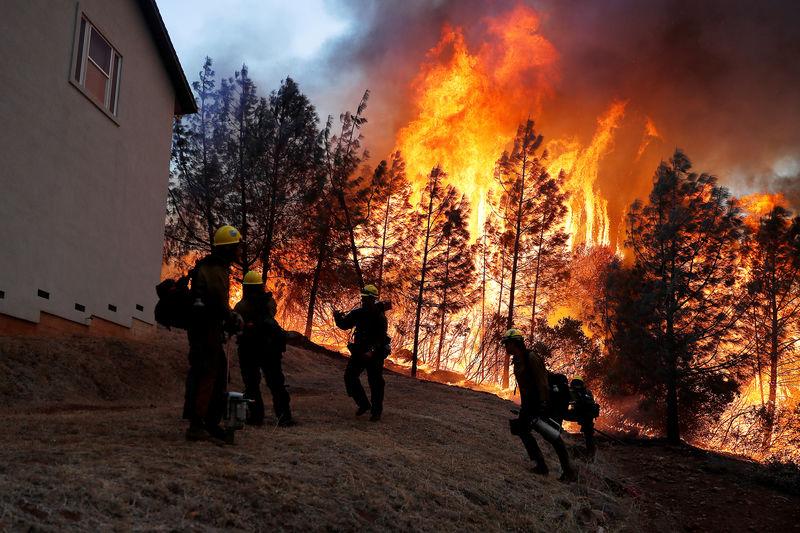 عدد القتلى والمفقودين في أسوأ حريق غابات بكاليفورنيا أقل من المعلن مسبقا
