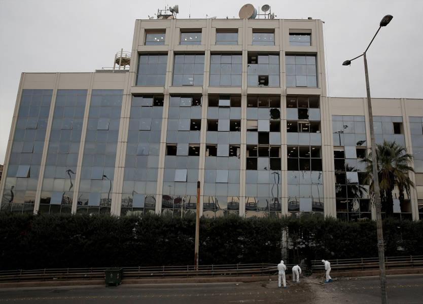 انفجار قنبلة أمام مبنى تلفزيوني في أثينا ولا ضحايا
