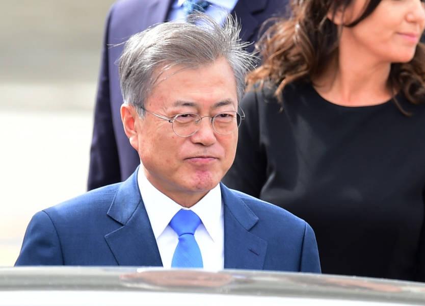 الرئيس الكوري الجنوبي: ترامب سيلبّي مطالب كيم بعد نزع سلاحه النووي