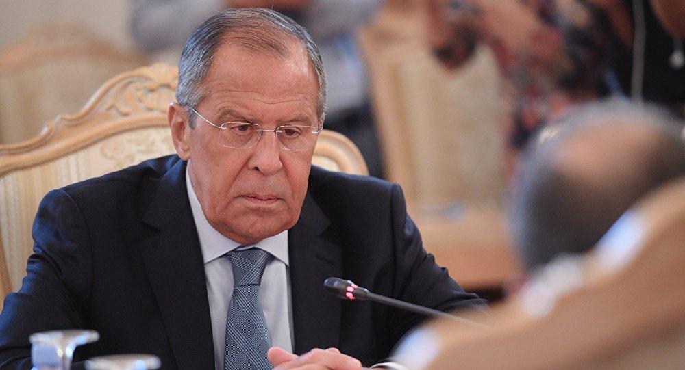 لافروف قلق من الوضع في كوسوفو والبلقان