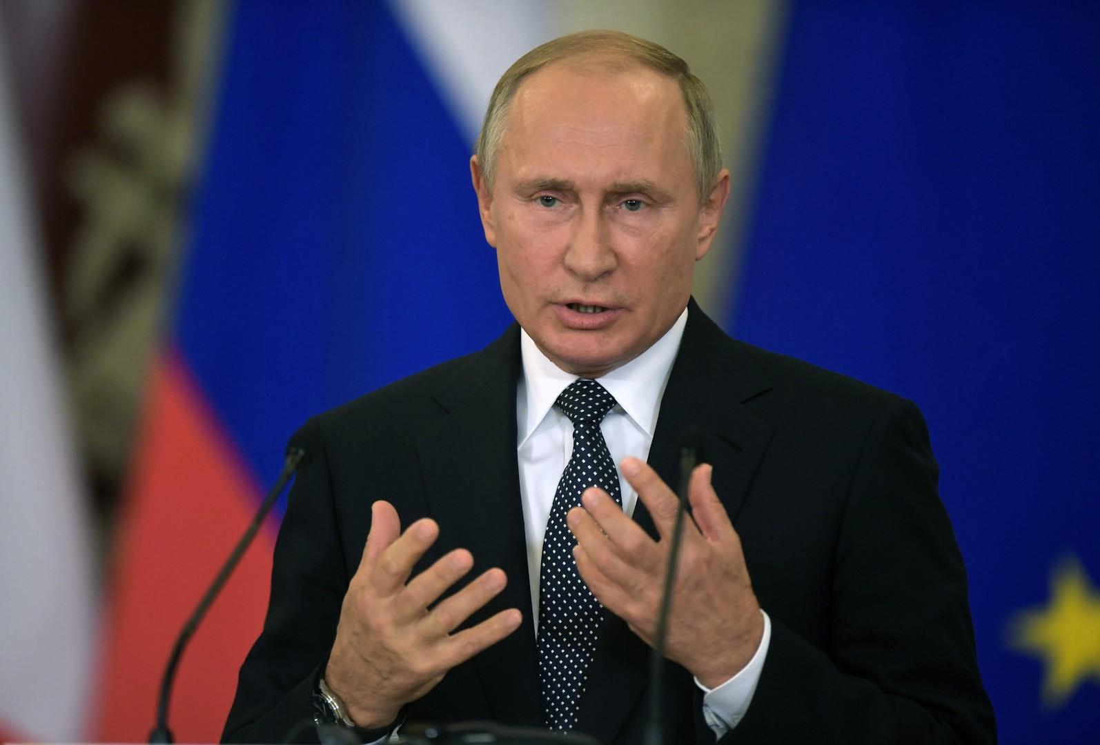 بوتين: يمكننا إنتاج صواريخ متوسطة المدى إذا انسحبت أمريكا من المعاهدة النووية
