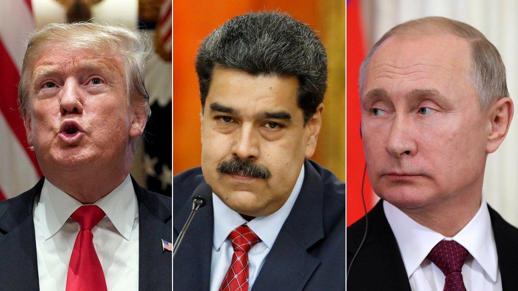 مادورو: ترامب أصدر أمراً لكولومبيا باغتيالي وبوتين يدعمني بقوّة