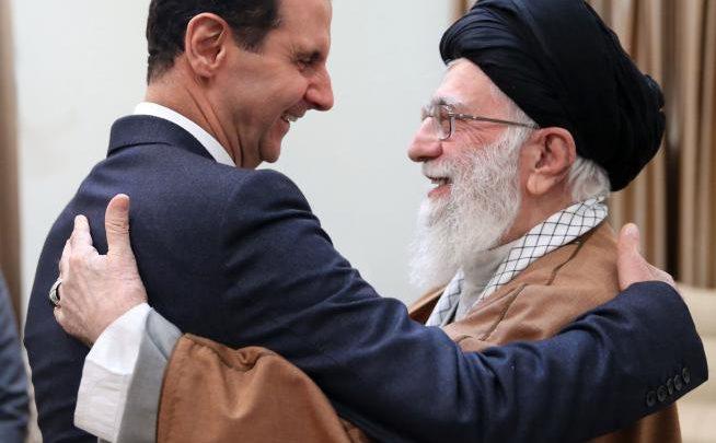 الخامنئي يصف الأسد بـ