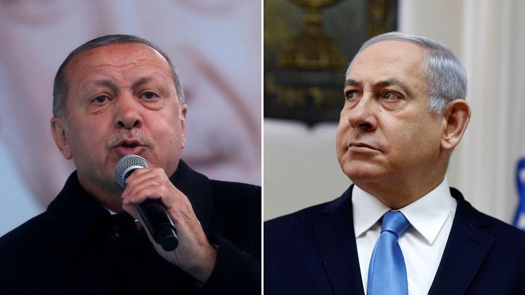 نتانياهو يرد على إردوغان: