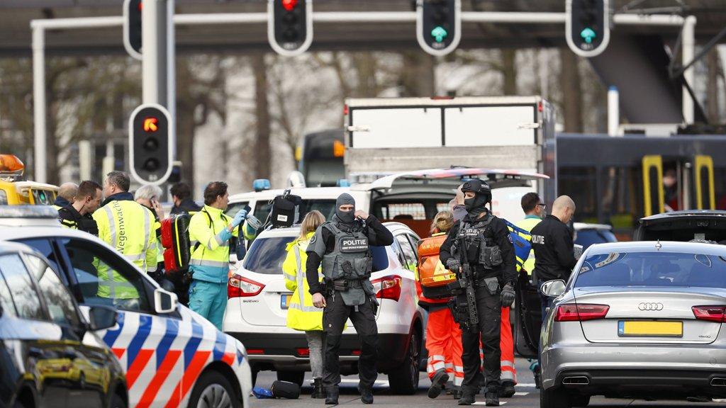 هولندا: إطلاق نار وإصابة كثيرين بجروح في مدينة أوتريخت