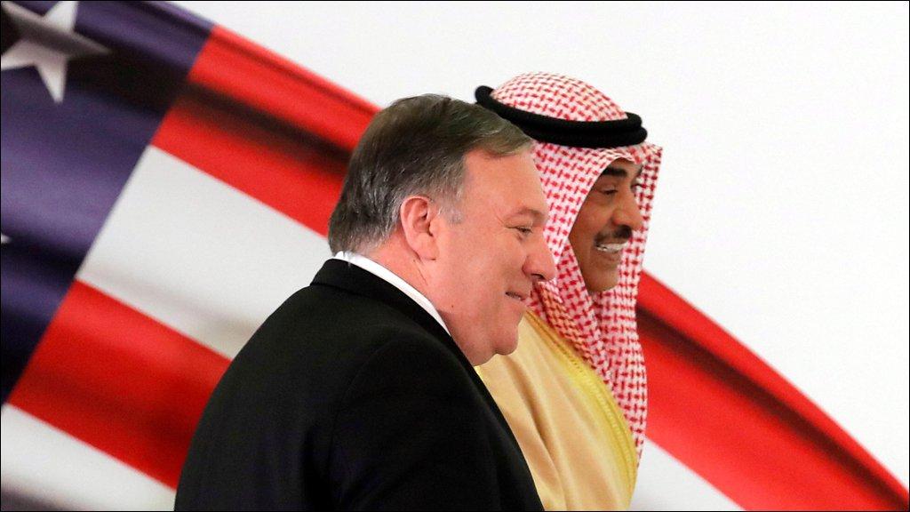 الكويت: الصداقة مع أمريكا ستقود إلى حل مقبول للقضية الفلسطينية