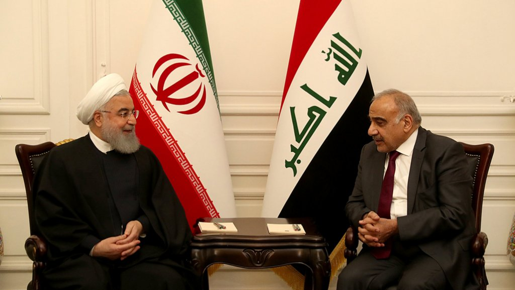 العلاقات التجارية محور زيارة روحاني للعراق
