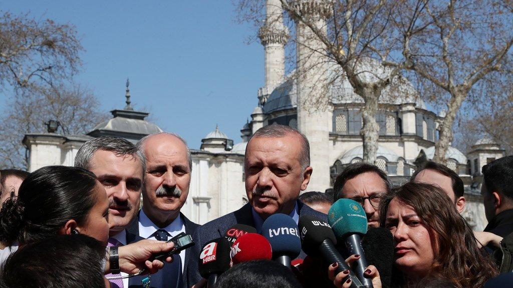 أردوغان: من المستحيل للمعارضة إعلان فوزها في اسطنبول