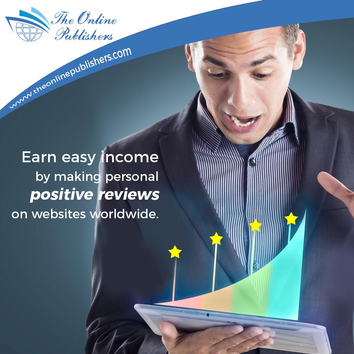 إنضم إلى منصّة The Online Publishers واكسب المال الآن بسهولة!