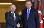 بوتين وأردوغان يؤكدان ضرورة منع وقوع مواجهة بين وحدات تركية وسورية
