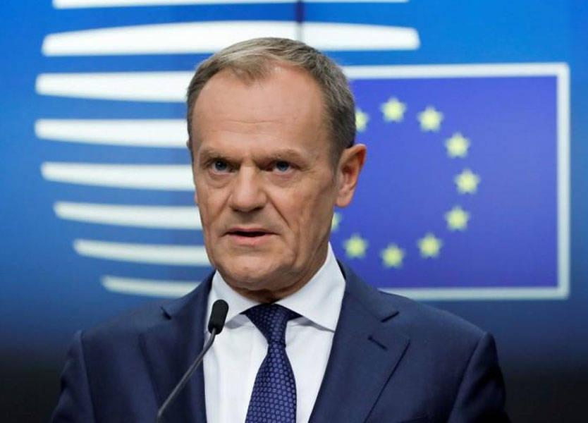 توسك: الاتحاد الأوروبي يوافق على تمديد بريكست إلى 31 كانون الثاني