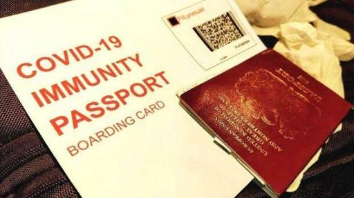 """""""جواز السفر المناعي"""