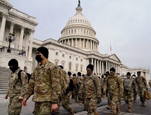 تكليف الحرس الوطني الأميركي بتعبئة ما يصل إلى 15 ألفا من القوات لتأمين تنصيب بايدن